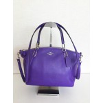 COACH 34493 SMALL KELSEY SATCHEL IN PEBBLE LEATHER